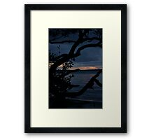 Night Falls Upon Us Framed Print