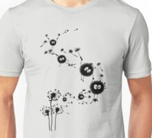 Flying Susuwatari Unisex T-Shirt