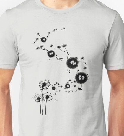 Flying Susuwatari Unisex T-Shirt