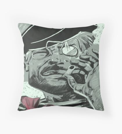 Anarchist Sailor Throw Pillow