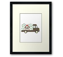 Lil Wayne Food Truck - Griddle Wayne Framed Print