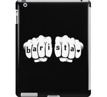 Barista fists iPad Case/Skin