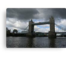Engineering Marvel - Tower Bridge, London, England Canvas Print
