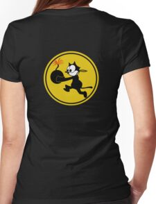 Fighting 31 'Tomcatters' Badge Womens Fitted T-Shirt