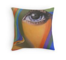 THE WATCHFUL EYE Throw Pillow