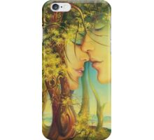 An Encounter at the Edge of the Forest iPhone Case/Skin