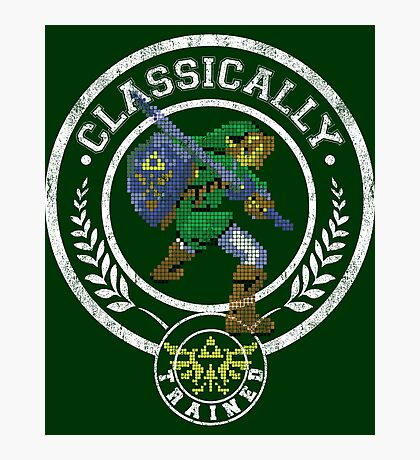 classically trained link Photographic Print