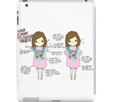 Baggy Shirts and Kittens iPad Case/Skin