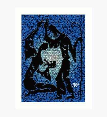 Mary, Jesus, Joseph Art Print