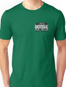 Hello my name isn't Lance Korr Unisex T-Shirt