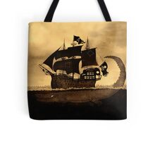 Tick tock the croc & Jolly Roger Tote Bag