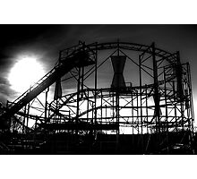 Rollercoaster Photographic Print