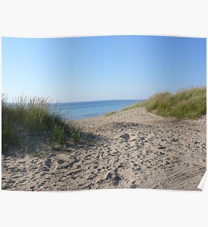 Beaches of Lake Michigan Poster