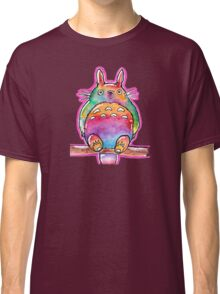 Cute Colorful Totoro! Tshirts + more! (watercolor) Jonny2may Classic T-Shirt
