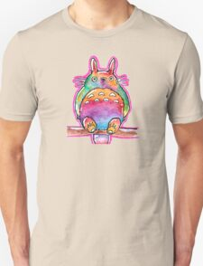 Cute Colorful Totoro! Tshirts + more! (watercolor) Jonny2may Unisex T-Shirt
