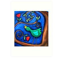 PASAREA  MAIASTRA  1  ( MIRACULOUS  BIRD  1 ) Art Print
