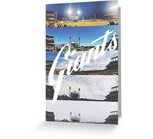 San Francisco Giants Season Ticket View at AT&T Park Greeting Card