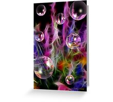 Colorful Beauty Greeting Card