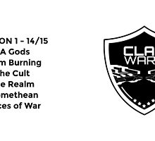 Clanwars - Season 1 - Mug  by exodusesports