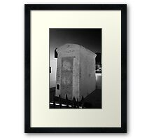 VOODOO QUEEN MARIE LAVEAU'S CRYPT Framed Print
