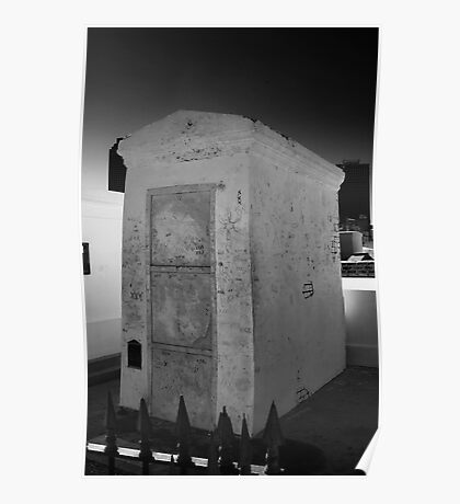 VOODOO QUEEN MARIE LAVEAU'S CRYPT Poster