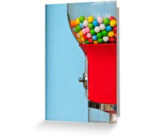 Chicle Greeting Card