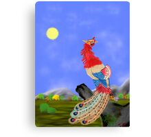Fenghuang (Chinese Phoenix) Canvas Print