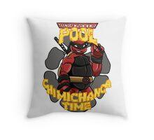 Teenage Mutant Ninja Pool! Throw Pillow