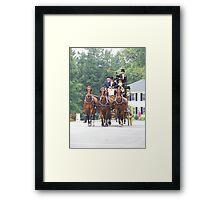 Tub Parade Sept 13th Framed Print