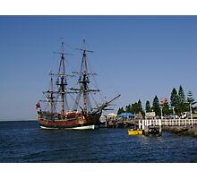 Tall Ship - HM Bark Endeavour Replica Photographic Print