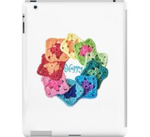 Happy Everything Granny Squares iPad Case/Skin