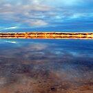 Snowy River Reflections Marlo Vic. by helmutk