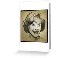 Molly Ringwald drawing Greeting Card