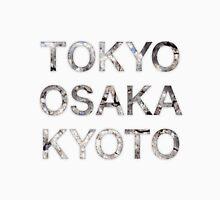 Tokyo, Osaka, Kyoto Unisex T-Shirt