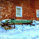 Wagon Cart in the Snow by kenmo