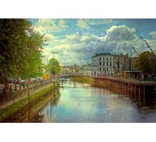 A River City - Cork, Southern Ireland Photographic Print