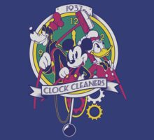 Mickey and Co. - Clock Cleaners by 91design