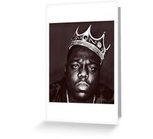 Notorious B.I.G. Greeting Card