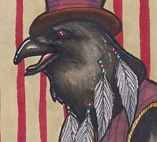 Circus Crow by Kylie Johnston