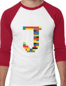 J t-shirt Men's Baseball ¾ T-Shirt