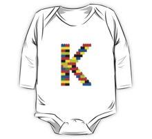 K t-shirt One Piece - Long Sleeve
