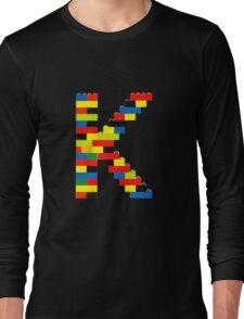 K t-shirt Long Sleeve T-Shirt