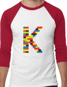 K t-shirt Men's Baseball ¾ T-Shirt