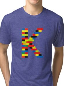 K t-shirt Tri-blend T-Shirt