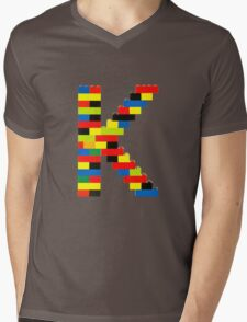 K Mens V-Neck T-Shirt