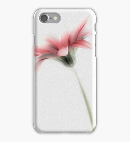 Delicately Painted High Key Gerbera iPhone Case/Skin