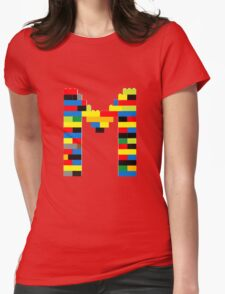 M Womens Fitted T-Shirt