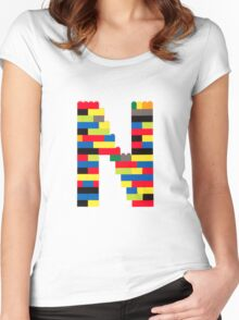N Women's Fitted Scoop T-Shirt