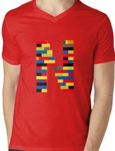 N t-shirt Mens V-Neck T-Shirt