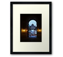 Welcome to Vienna Framed Print